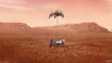 Photo of ارسال صور من كوكب المريخ ملونة عبر المركبة برسفيرنس.