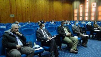 Photo of عبدالنبى يلتقى بعمداء جامعة المنيا لمتابعة امتحانات الفصل الدراسى الاول