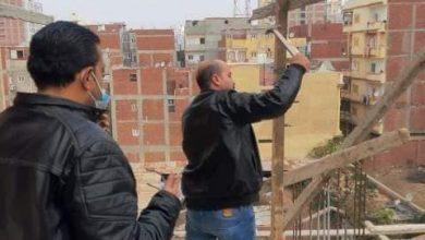 Photo of إيقاف حالتي بناء بدون ترخيص وإتخاذ الإجراءات القانونية ضد أصحابها بفاقوس ومنيا القمح
