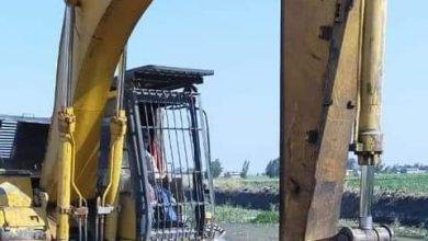 Photo of شريف هيكل يتابع إزالة عدد (23) حالة تعدى على أملاك الصرف بسيدي سالم