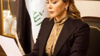 Photo of رغد صدام حسين .فترة حكم والدى كانت عز العراق .
