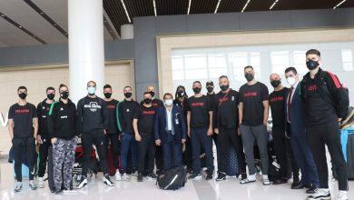 """Photo of منتخب فلسطين لكرة السلة يغادر البحرين بعد مشاركته في """"فقاعة البحرين """" المؤهلة لنهائيات آسيا."""