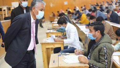Photo of رئيس جامعة جنوب الوادى :8648طالب وطالبة أدوا الامتحانات في الفترة المسائية