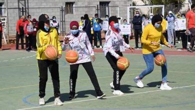 """Photo of """" الشباب والرياضة """" تشهد انطلاق النسخة الاولي من دوري منتخبات كرة السلة للصم بنات"""