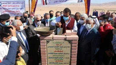 """Photo of """"عبدالغفار"""" يضع حجر الأساس لفرع جامعة السويس في جنوب سيناء"""