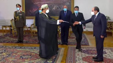 Photo of السيسي يتسلم أوراق اعتماد السفير العماني وأربعة عشر سفيراً جديداً
