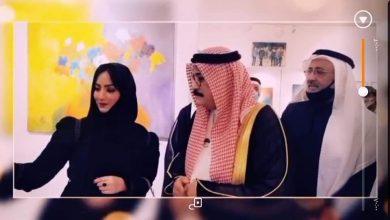 """Photo of """" دحلان """" يشهد تدشين معرض الفن للجميع"""