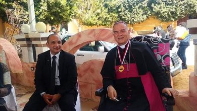 """Photo of """" خريجي الأزهر """" تشارك في استقبال السفير البابوي للفاتيكان بصعيد مصر"""