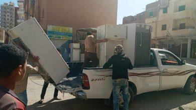 Photo of المصادرة والتحفظ على الاثات المستعمل بعد تعدد بلاغات المواطنين