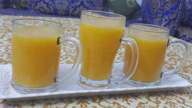 Photo of طريقة عمل عصير الجزر والبرتقال الطبيعي والصحي