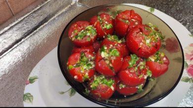 Photo of طريقه عمل الطماطم المخلله