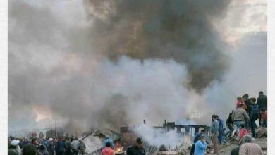 Photo of فصل الكهرباء بمحيط محطة قطارات الزقازيق للسيطرة على الحريق