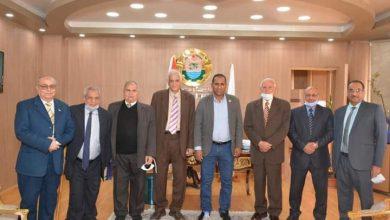 Photo of غلاب : يستقبل لجنة علمية لفحص الإنتاج العلمي