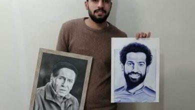 """Photo of بالزيت والرصاص الرسام """"ميخائيل موسي"""" يجمل شوارع مصر"""
