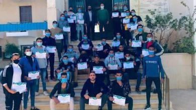 Photo of كلية التربية الرياضية جامعة الوادى الجديد تكرم الطلاب المشاركين فى عروض المناورة العسكرية
