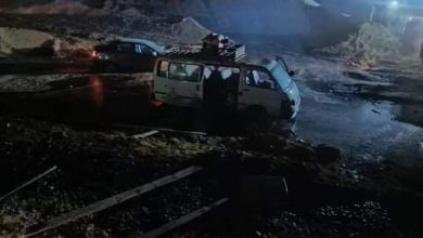 Photo of #عااجل  حادث اليم بطريق أسيوط الغربي بالفيوم إصابة 14 شخص و فاة 3 اشخاص