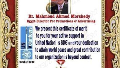 Photo of وكالة روتانانيوز الإخبارية تهنئ الدكتور محمود مرشدي رئيس منظمة اليونيسك بمصر