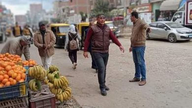 Photo of شريف هيكل يتابع حملات لرفع الاشغالات وإزالة تعديات علي أملاك الدولة بسيدي سالم