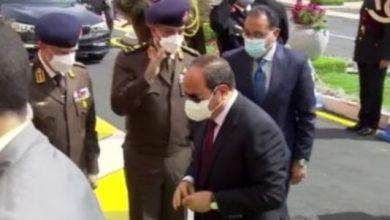 Photo of وصول الرئيس عبد الفتاح السيسي إلى مقر مشروع مجمع الوثائق المؤمنة والذكية