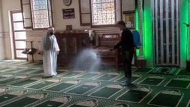 """Photo of """"الأوقاف"""" تطلق حملة تعقيم للمساجد تبدأ من الأسمرات استعدادًا لرمضان"""
