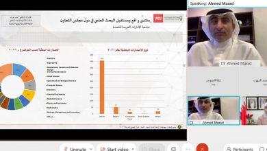 Photo of جامعة الإمارات تشارك في منتدى واقع ومستقبل البحث العلمي