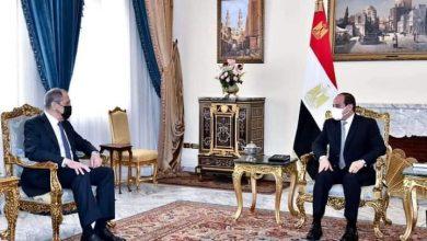 Photo of السيسى يستقبل وزير خارجية روسيا