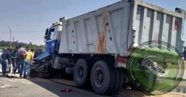 Photo of مصرع أسرة من 4 أشخاص فى حادث تصادم سيارتين بالشرقية