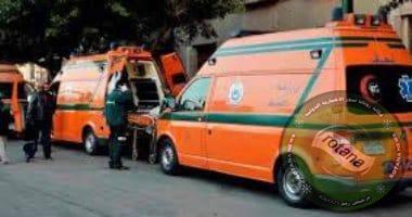 Photo of إصابة 13 شخصا فى حادث انقلاب سيارة ميكروباص على طريق سوهاج البحر الأحمر