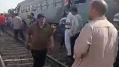 Photo of أول بيان من السكة الحديد عن حادث قطار طوخ : انقلاب 4 عربات