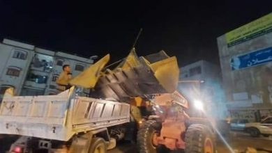 Photo of جهاز مدينة العبور ينفذ حملة مسائية لرفع الإشغالات لمواجهة ظاهرة الباعة الجائلين