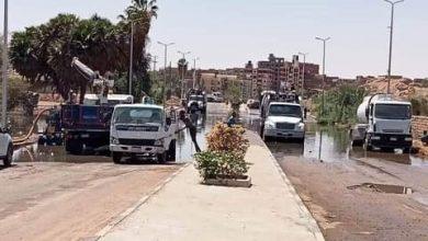 Photo of توجيهات من محافظ أسوان للإسراع بإصلاح خط الطرد الرئيسي للصرف الصحي بالكرور بطريق فيلة