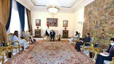 Photo of الرئيس السيسي :يستقبل رئيسة البنك الأوروبي لطرح مؤشرات الاقتصاد المصري