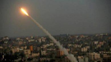 Photo of عاجل.  إطلاق صاروخ من غزة فى هذة اللحظات متابعة.