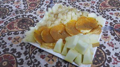 Photo of طريقه عمل طبق الليمون والبرتقال بالقرفه والاناناس