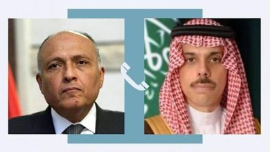 Photo of سامح شكرى يُجري اتصالًا هاتفيًا بوزير الخارجية السعودي