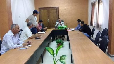 Photo of وكيل الزراعه مناقشة بحث آليات تطبيق الزراعة التعاقدية بالفيوم