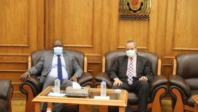 """Photo of """"الشرقاوي"""" يستقبل سفير دولة جنوب السودان والوفد المرافق له"""