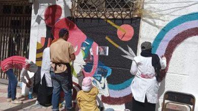 Photo of محافظ كفر الشيخ ونائبه يشيدان بمشاركة طلاب التربيةالنوعية في تجميل شارع إبراهيم المغازي