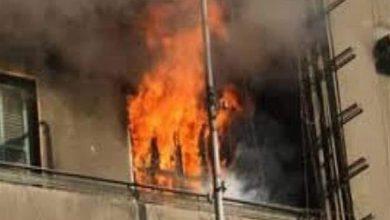 Photo of انفجار أسطوانة غاز داخل شقة
