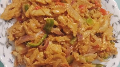Photo of دجاج بالخضار والمشروم