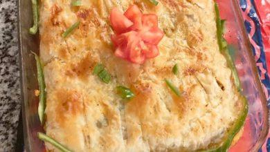 Photo of قالب جلاش بالمكرونة والدجاج