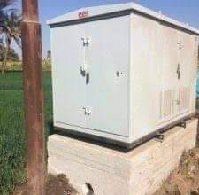 Photo of تركيب كشك كهرباء علي طريقي فرشوط شمال قنا