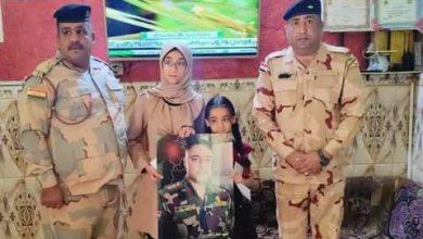 Photo of الجيش العراقي يواصل زياراته لأسر الشهداء والجرحى خلال شهر رمضان المبارك