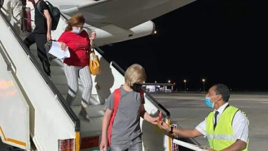 Photo of مطار الغردقة الدولى يستقبل أولى رحلات شركة إيركايرو قادمة من فرانكفورت