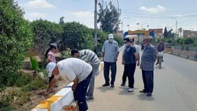 Photo of متابعه أعمال النظافة ورفع القمامة بالطرق العامة والشوارع والميادين .