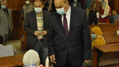 "Photo of بالصور رئيس جامعة المنيا فى جولة تفقدية للجان ""الزراعة"" و ""الحقوق"" و""العلوم"""