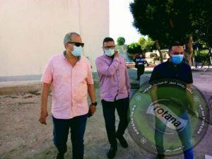 وكيل وزارة الصحة بالبحرالأحمر يتفقد أعمال التطوير بمستشفي حميات الغردقة