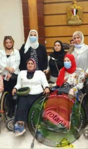 """مبادرة عظيمات مصر لذوات الإعاقة """"عايزين نعيش """" في ضيافة وزيرة التضامن الإجتماعي"""