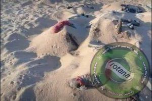 الهلال الاحمر الليبي يعثر علي مقابر جماعية للمصريبن