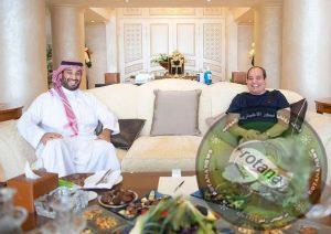 الرئيس السيسي في لقاء مع ولي العهد السعودي بشرم الشيخ